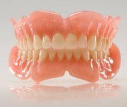 An image of dentures